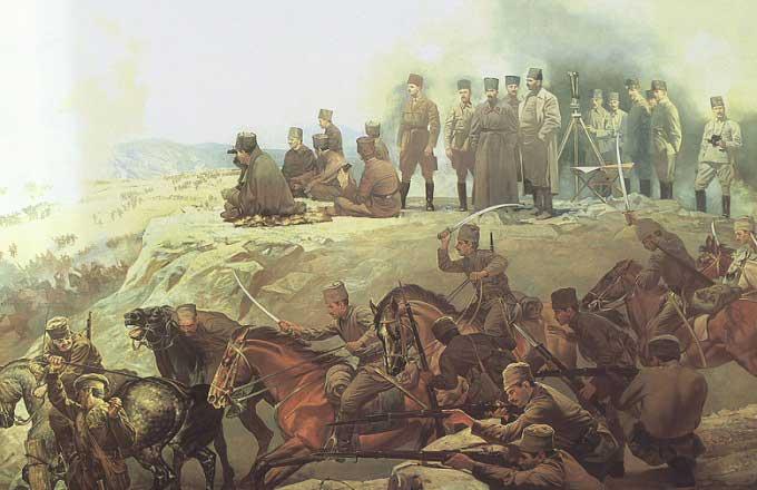 Ataturk Dusman Bayragini Yerde Gorunce Ne Demistir
