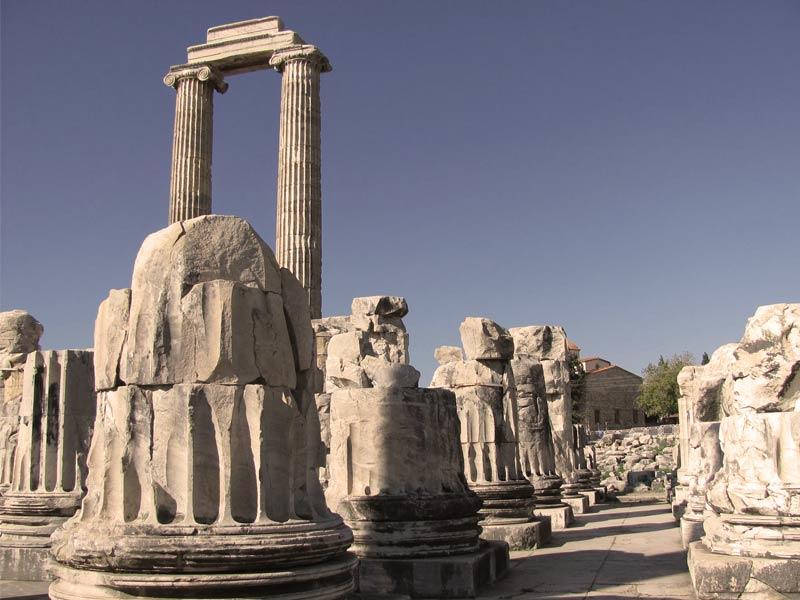 priene antik kenti